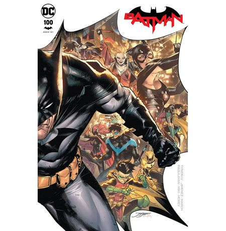 Batman #100A (The Joker War Rebirth)