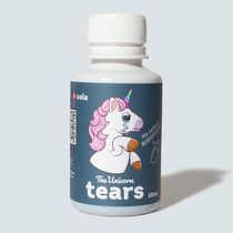Сироп The Unicorn tears, Cola, с блестками